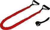 Tunturi Tubing met Beschermhoes - Suspension trianer - Sling trainer - Medium Weerstand - Rood