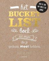 Boekomslag van 'Het Bucketlist-boek'