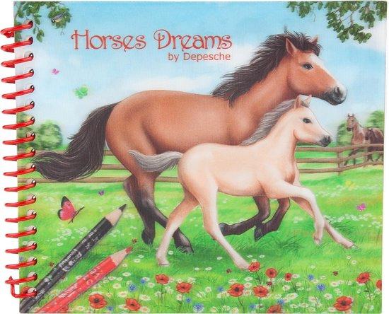 Horses Dreams pocket kleurboek - Depesche
