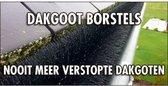 GOOTBORSTEL (dakgoot egel) gutterbrush - 12 meter lang (10x120cm diameter 15cm)