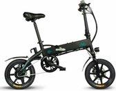 Fiido D1 - Elektrische vouwfiets- E-bike - Goede kwaliteit - Zwart - elektrische fiets - e-bike - handig op de camping - trein - 25km per uur -  lithium batterij - tot 80km Per uur met trap ondersteuning