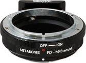 Metabones Canon FD naar MFT