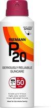 P20 - SPF 50 - 150 ml - Zonnebrandcrème - Continuous Spray