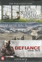 The war collection The Boy in striped pyjamas/The Way Back/Defiance