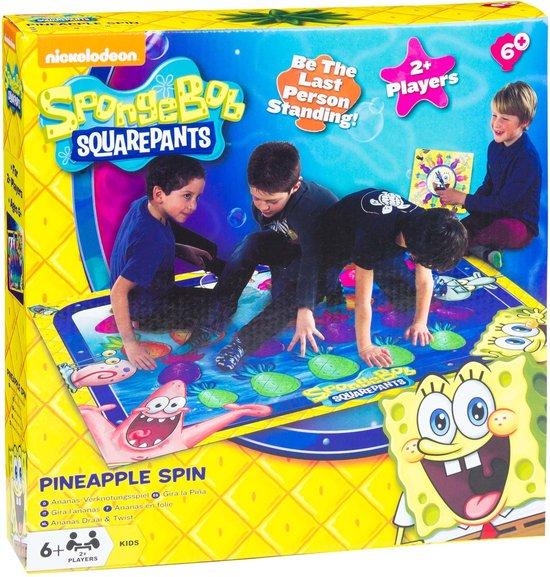 Afbeelding van het spel Sponge Bob Ananas Draai & Twist + speelmat twister
