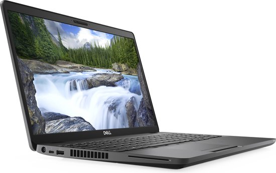 DELL Latitude 5500 Notebook Zwart 39,6 cm (15.6'') 1920 x 1080 Pixels Intel® 8de generatie Core™ i5 8 GB DDR4-SDRAM 256 GB SSD Wi-Fi 5 (802.11ac) Windows 10 Pro