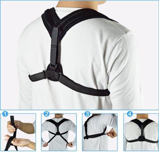 Rugbrace - Rug | Postuur Corrector - Rugband - Houding Correctie Brace