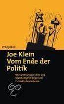 Omslag Vom Ende der Politik