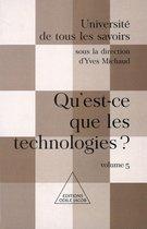 Qu'est-ce que les technologies ?