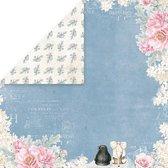 Craft&You Pastel Wedding single paper 12x12 inch