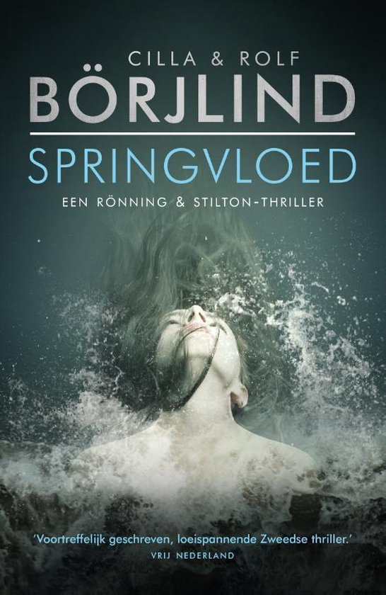 Boek cover Springvloed van Cilla En Rolf Börjlind (Paperback)