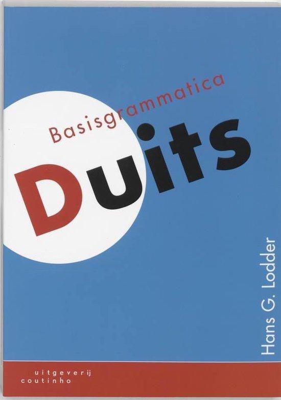 Basisgrammatica Duits - H.G. Lodder  