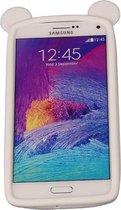Wit Bumper Beer Medium Frame Case Hoesje voor Samsung Galaxy A5 2017