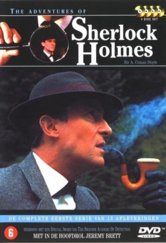 Cover van de film 'Adventures of Sherlock Holmes'