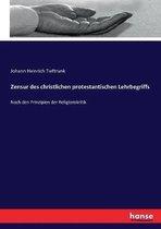 Zensur des christlichen protestantischen Lehrbegriffs