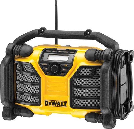 DeWalt DCR017 - DAB bouwradio - Zwart/Geel