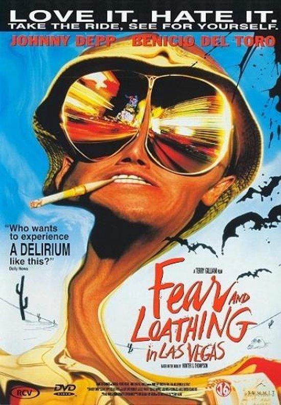 Cover van de film 'Fear & Loathing In Las Vegas'