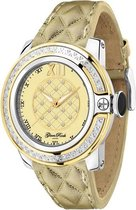 GR32062D Glam Rock SoBe dameshorloge met diamant - 44 mm - Leer