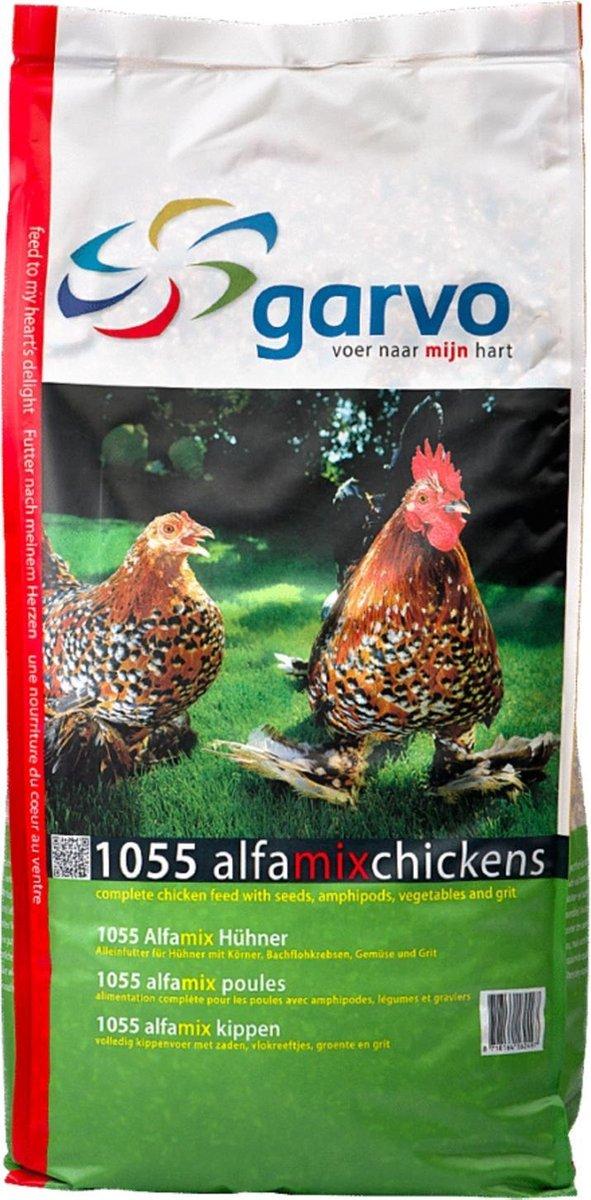 Garvo Alfamix Kippen 1055 - 12.5 kg
