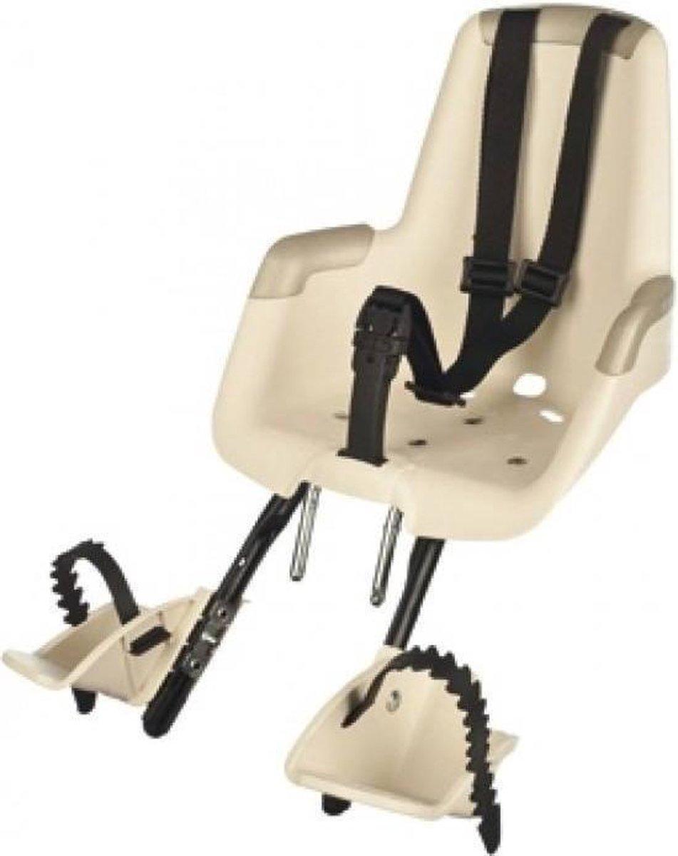 Kinderzitje / Fietsstoeltje (voorzitje) BOBIKE Classic Mini+ Creme, Exclusief kussentje