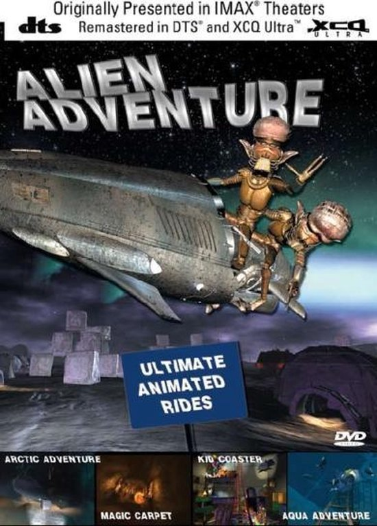 Cover van de film 'Alien Adventure'