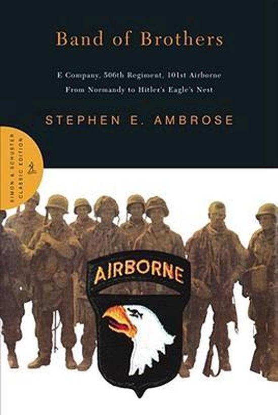 Boek cover Band of Brothers van Stephen E. Ambrose (Onbekend)