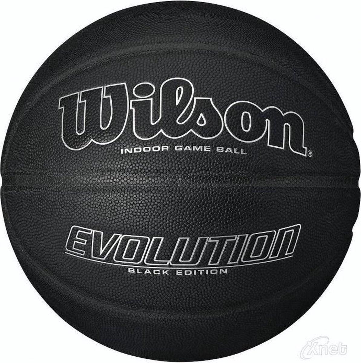 Wilson BasketbalVolwassenen - zwart/zilver - Wilson