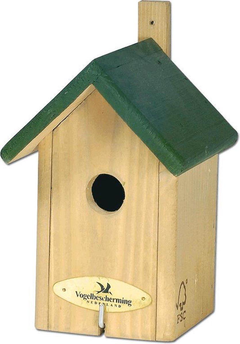 Vogelbescherming Nestkast Little Rock - Groen - 22 x 12 x 11 cm
