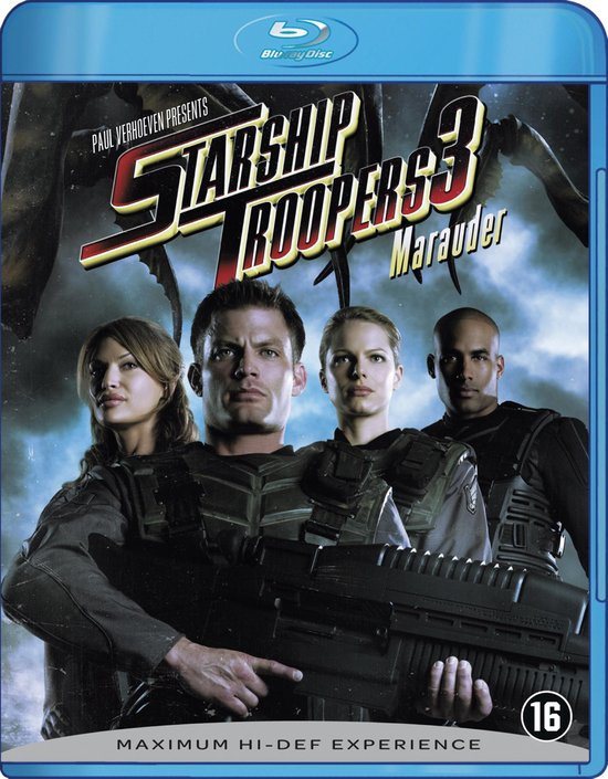Cover van de film 'Starship Troopers 3 - Marauder'