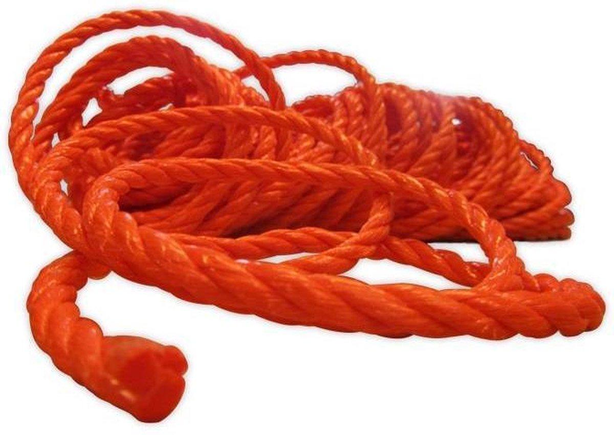 Touw Oranje Streng 4mm x 25 meter
