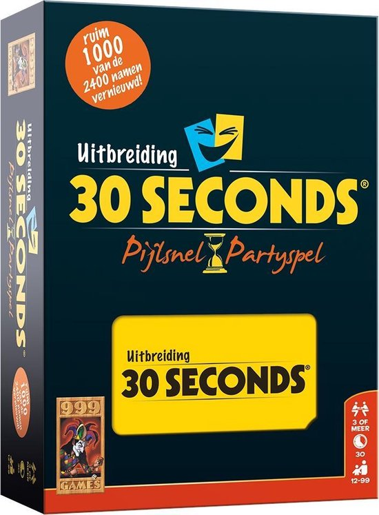 Afbeelding van 30 Seconds Uitbreiding - Bordspel