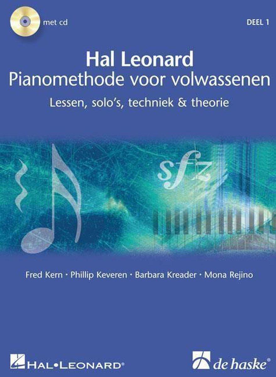 1 Pianomethode voor volwassen - Fred Kern