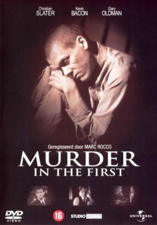 Cover van de film 'Murder In The First'