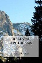 Freedom - Aphorisms