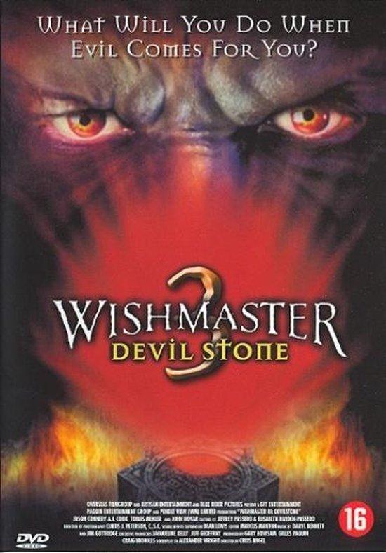 Cover van de film 'Wishmaster 3: Devil Stone'