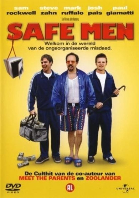 Cover van de film 'Safe Men'