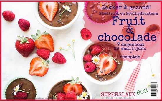 SuperslankBox Fruit en Chocola  - 28 maaltijden