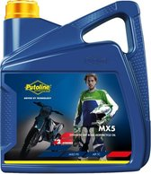 Putoline MX5 Synthetische 2-takt Motocross Enduro Motorolie - 4 Liter