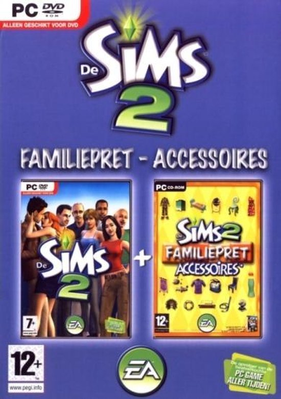 The Sims 2 Family Fun Bundel – Windows