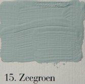 l' Authentique krijtverf, kleur 15 Zeegroen, 2.5 lit.