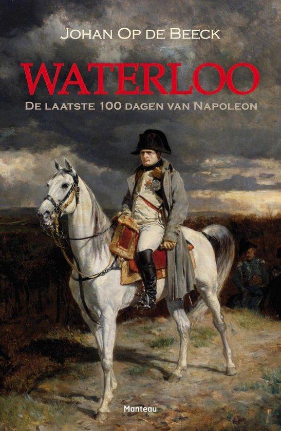 Boek cover Waterloo van Johan op de Beeck (Onbekend)