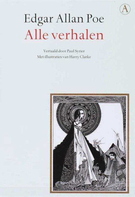 Boek cover Alle verhalen van Edgar Allen Poe (Onbekend)