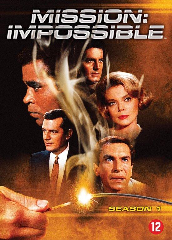 Cover van de film 'Mission Impossible'