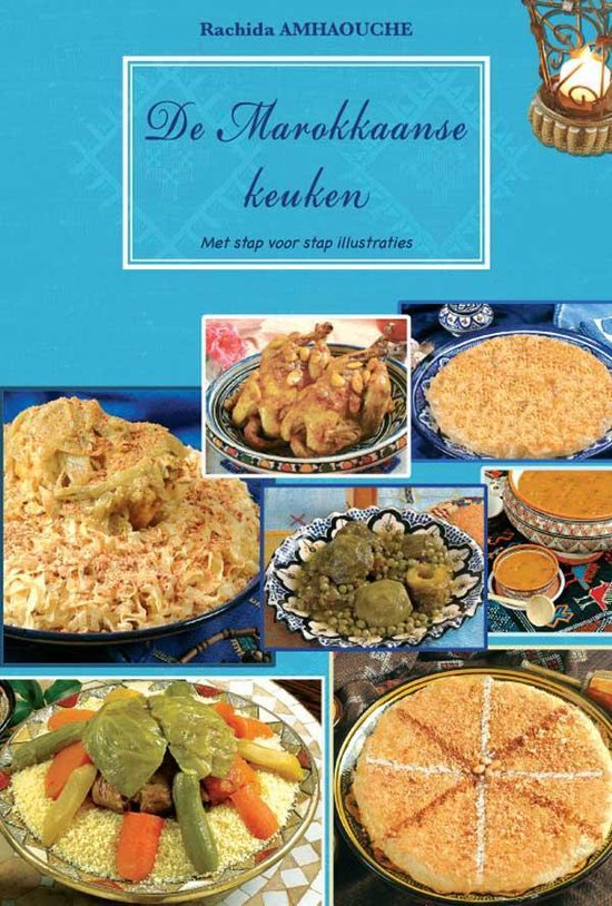 Cover van het boek 'De Marokkaanse keuken' van R. Amhaouche
