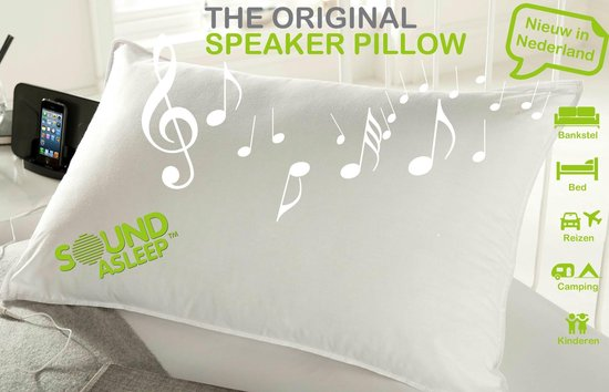 Sound Asleep pillow | Kussen