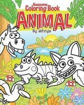 Awesome Coloring Book Animal