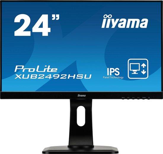 Iiyama ProLite XUB2492HSU-B1 - Full HD IPS Monitor - Geweldige monitor onder 200 euro