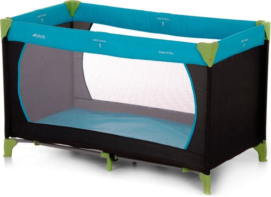 Hauck Dream N Play Campingbedje - Waterblue
