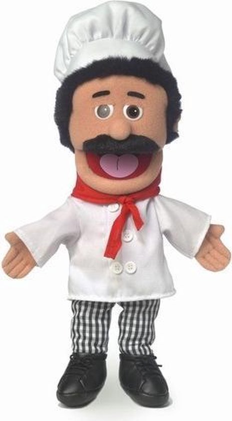 Handpop Chef Luigi Sillypuppets 14''