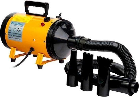 Groomers - Hondenföhn - Professioneel - Haren drogen - Waterblazer - Stofblazer - Vachtverzorging - Reinigen - Verstelbaar vermogen - Opwarmen - Afdrogen
